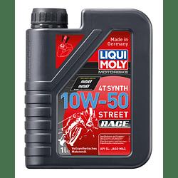 Aceite motocicleta Liqui Moly 4T SYNTH 10W-50