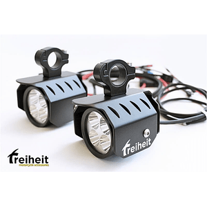 KIT FOCOS AUXILIARES LED 6000 PARA DEFENSAS ALTAS