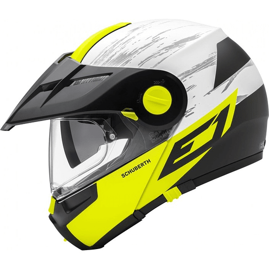 Casco Schuberth E1 Crossfire Yellow