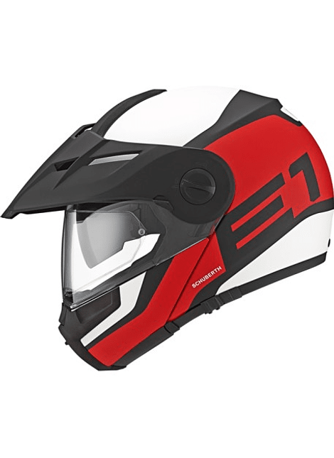 Casco Schuberth E1 Guardian Red