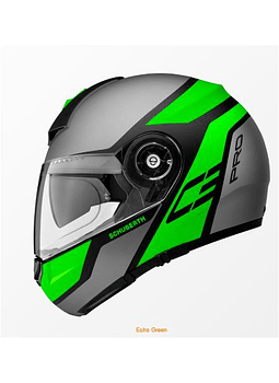 Casco Schuberth C3 Pro Echo Green