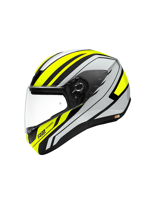 SCHUBERTH CASCO R2 ENFORCER YELLOW