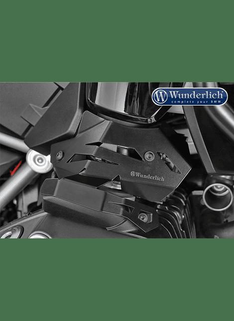 Wunderlich Cubierta para sistema de inyección - Derecho - negro