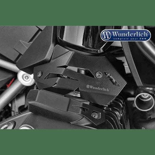 Wunderlich Cubierta para sistema de inyección - Derecho - negro - Image 1