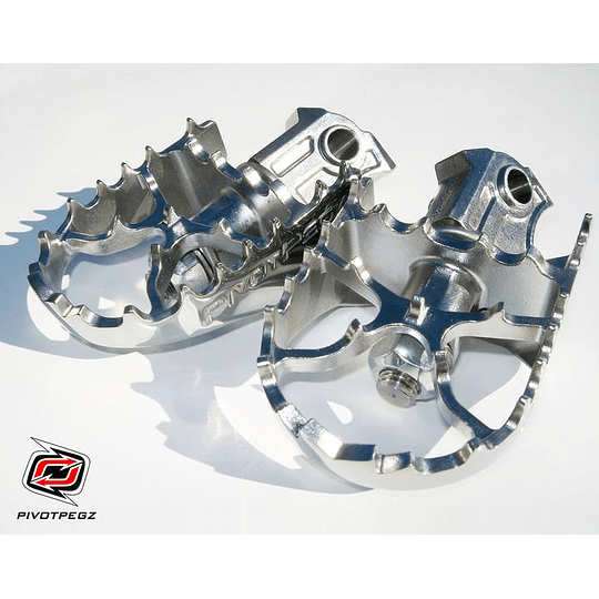 Pedalines Pivoteables ADV Pivot Pegz BMW R1200GS/R1250GS/ADV - Image 1