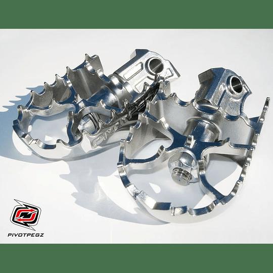 Pedalines Pivoteables ADV Pivot Pegz Honda Africa Twin XRV 750/CRF1000L ->2017 - Image 1