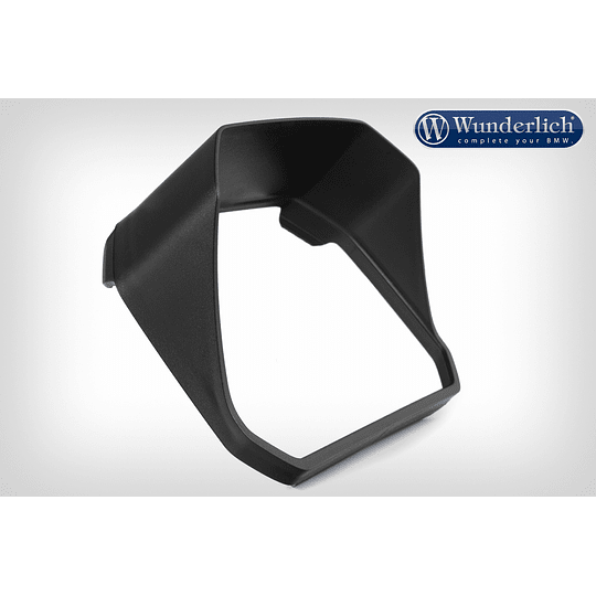 Visera Wunderlich para pantalla TFT de 6,5 pulgadas - negro - Image 2