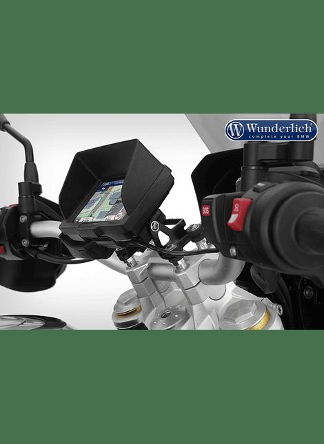 Alza manubrio Wunderlich F850 GS con soporte de GPS 20mm