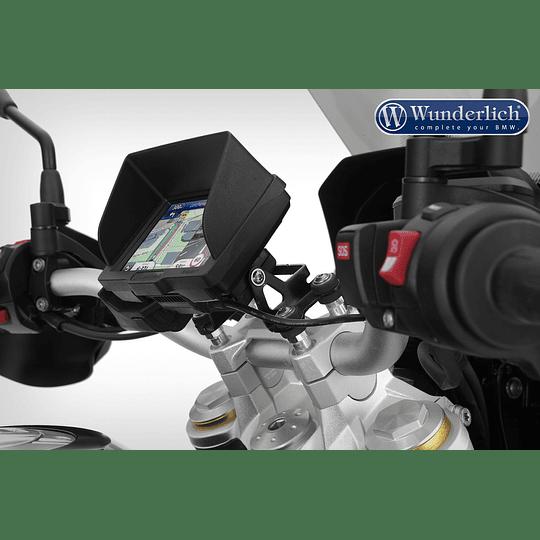 Alza manubrio Wunderlich F850 GS con soporte de GPS 20mm - Image 3
