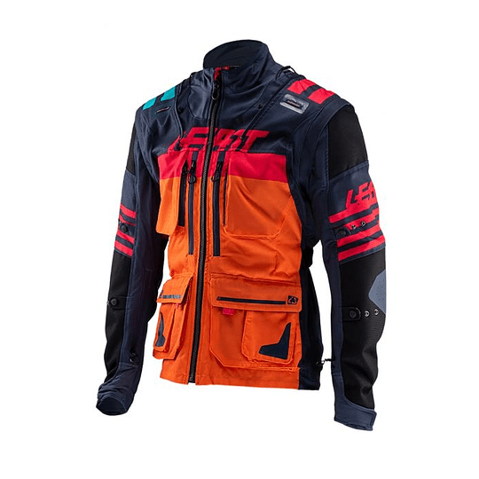 CHAQUETA LEATT GPX 5.5 ENDURO INK/ORANGE  - Image 1