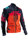 CHAQUETA LEATT GPX 5.5 ENDURO INK/ORANGE