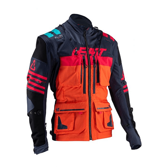 CHAQUETA LEATT GPX 5.5 ENDURO INK/ORANGE  - Image 2