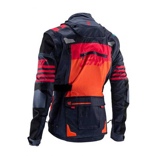 CHAQUETA LEATT GPX 5.5 ENDURO INK/ORANGE  - Image 3