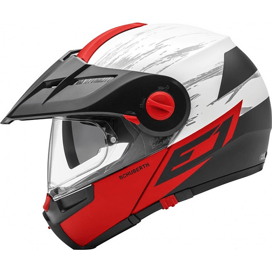 Casco Schuberth E1 Crossfire Red  - Image 1