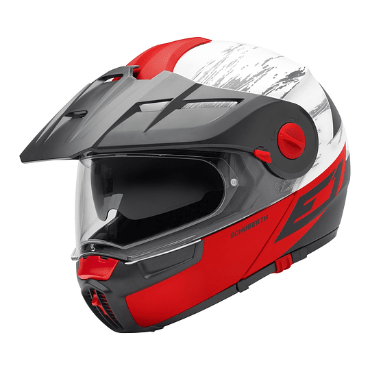Casco Schuberth E1 Crossfire Red  - Image 2