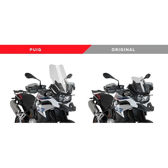 PUIG NUEVO PARABRISAS TOURING PLUS BMW F750GS  - Image 2