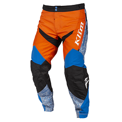 KLIM DAKAR PANTALÓN ORANGE/BLUE INTERIOR DE BOTA