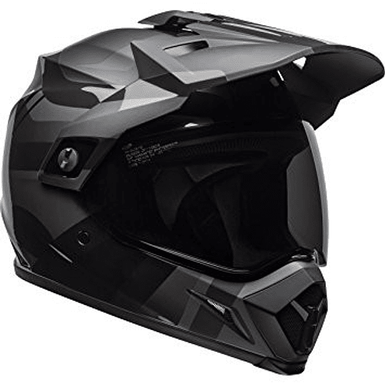 Casco Multipropósito Bell Mx-9 ADV Mips Mt/Gls Blackout Blk - Image 1