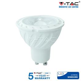 Lâmpada LED GU10 6.5W 38º 450Lm Dimável Chip SAMSUNG