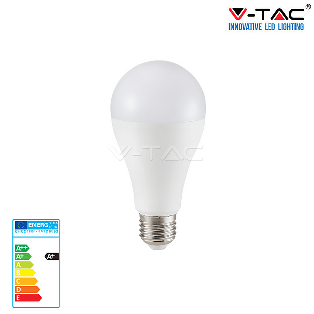 LÂMPADA LED E27 15W 1500Lm A65 ALLROUND