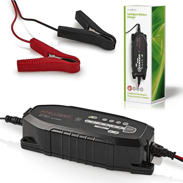 Carregador de Baterias Chumbo Universal 3.8A Nedis
