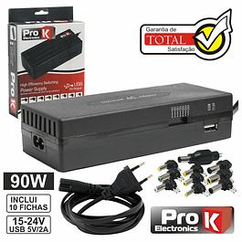 Fuente de alimentación conmutada 15-24V 5a C / USB PROK