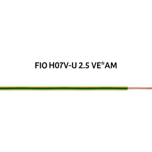 FIO RÍGIDO (H07V-U) 2,5mm²
