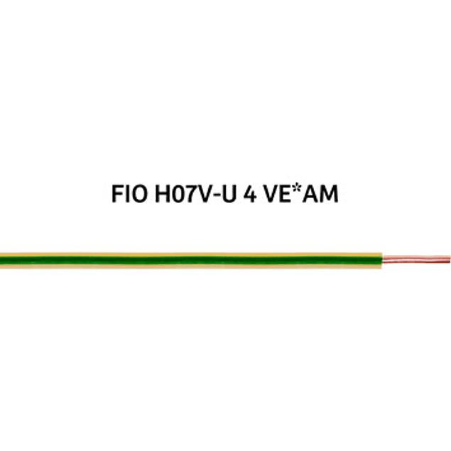 FIO RÍGIDO (H07V-U) 4mm²