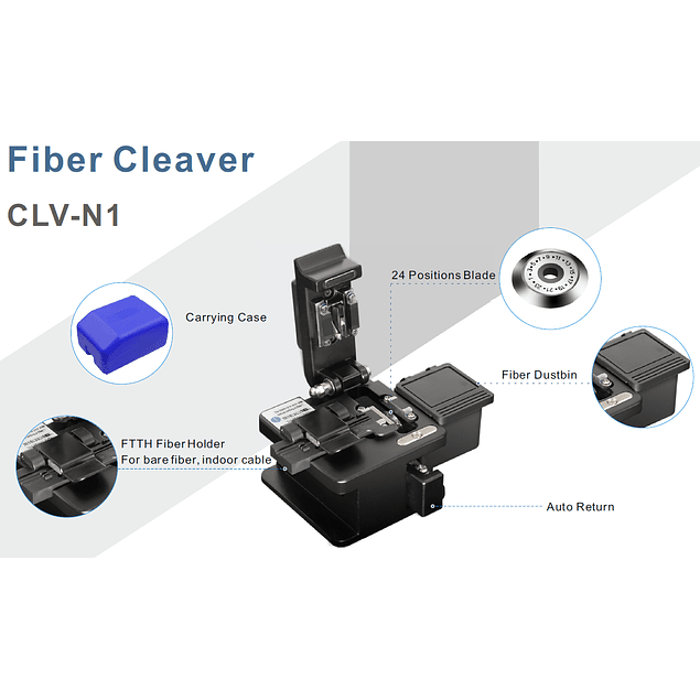 CLV-N1 MAQUINA DE CORTE DE FIBRA - P/ REDE CLIENTE