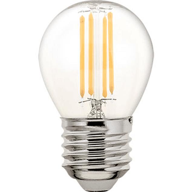 Lâmpada LED Filamento E27 4W 470LM 2700K Branco Quente- A++