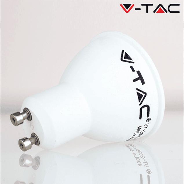 PACK (3UN.) LÂMPADA LED GU10 5w»35W 110º LUZ NATURAL 400Lm WIDE