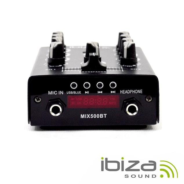 MESA DE MISTURA 2 CANAIS USB/REC/BLUETOOTH IBIZA