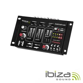 MESA DE MISTURA 4 CANAIS 7 ENTRADAS / USB - IBIZA