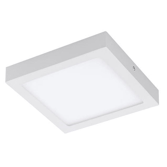 DOWNLIGHT LED QUADRADO 18W 225MM SALIENTE