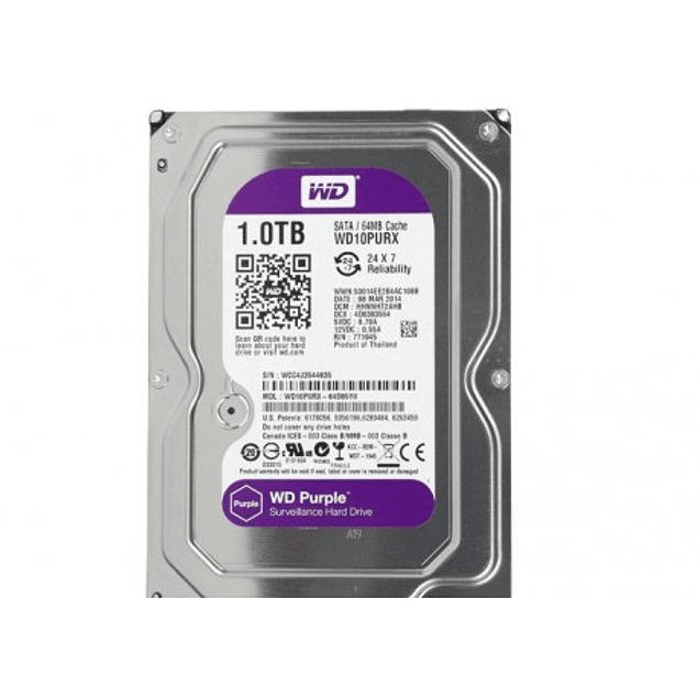 """HDD 3.5 """"1TB S-ATA 3 WD 64MB DESKTOP PURPLE"""