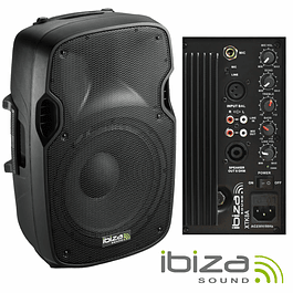 "PROFESSIONAL BI-AMPLIFIED COLUMN 8 ""200WMÁX ABS IBIZA"