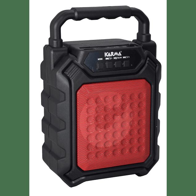 ALTAVOZ PORTÁTIL 4 ″ 25W MAX USB / MP3 / BT / FM / BAT