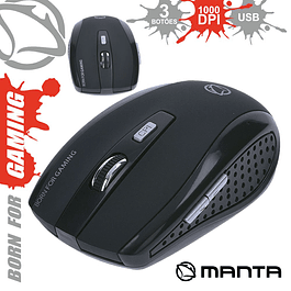 1000 DPI USB MOBILE OPTIC MANTA