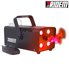 700W SMOKING MACHINE WITH 4 LEDS AND COMMAND