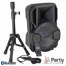 "8 ""USB / BT / SD AMPLIFIED SPEAKER SPEAKER / MICRO PARTY"