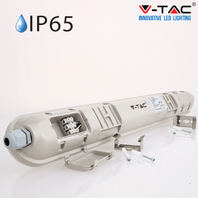 COMPACT LED 48W 150CM COLD LIGHT 4.000LM IP65