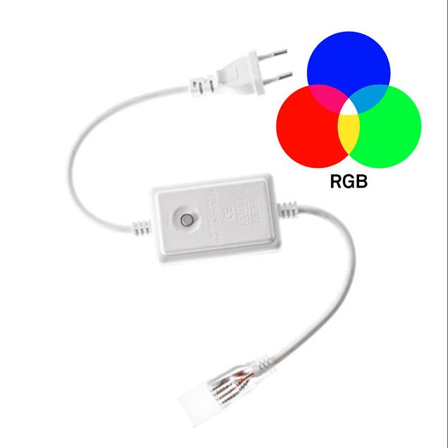 CONTROLADOR PARA FITA RGB 220V 5050