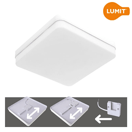 SURFACE LED PANEL BISMUTO 24W 18X18X3,5CM 2160Lm