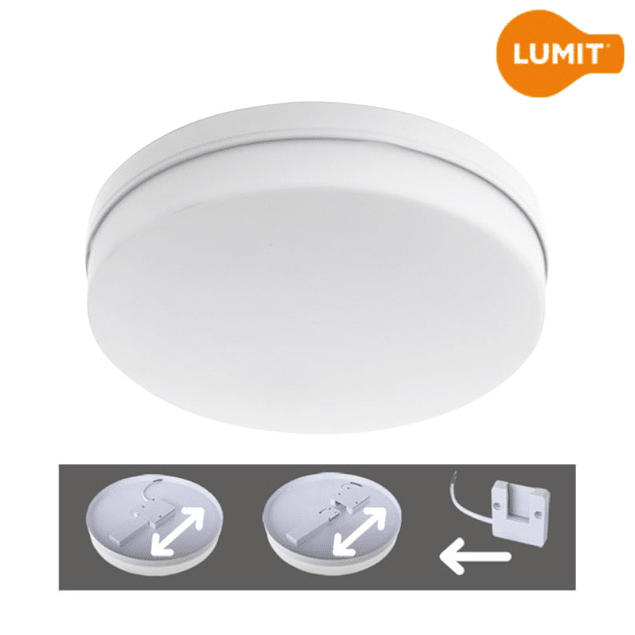 PANEL LED DE SUPERFICIE BERILO 48W 30X3,5CM 4320Lm