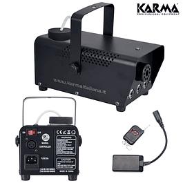 MÁQUINA FUMOS 700W C/ LED's + COMANDO - KARMA