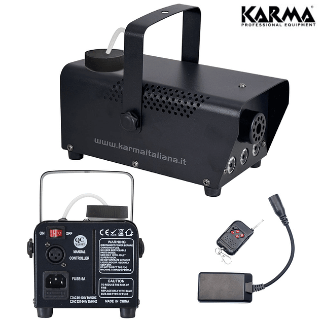 700W SMOKING MACHINE W / LED's + COMMAND - KARMA