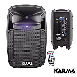 COLUNA ATIVA 10″ 170W USB/SD/MP3 Bluetooth + TWS KARMA