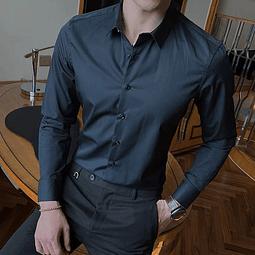 Camisa Slim fit Negra