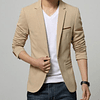 Blazer Slim Fit Beige