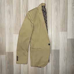 Blazer Slim Fit Khaki